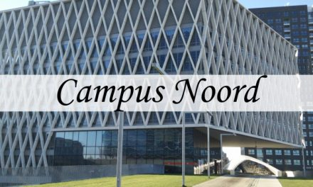 Campus Spoor Noord – two buildings for AP Hogeschool in a green environment