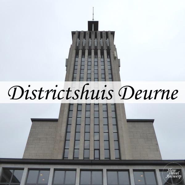 Districtshuis Deurne -titel