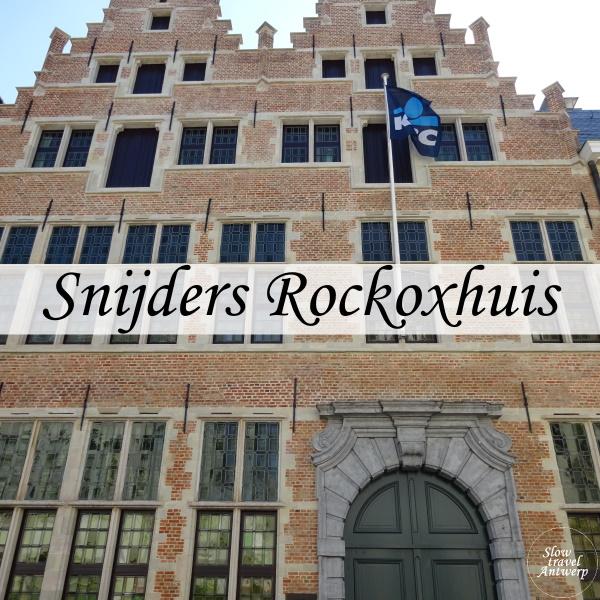 Snijders Rockox Huis - museum Antwerpen - titel