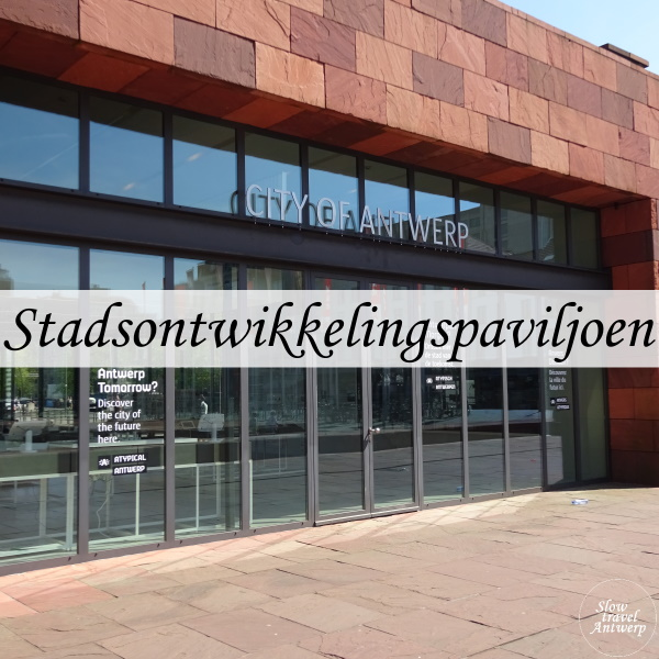 Stadsontwikkelingspaviljoen Antwerpen - titel