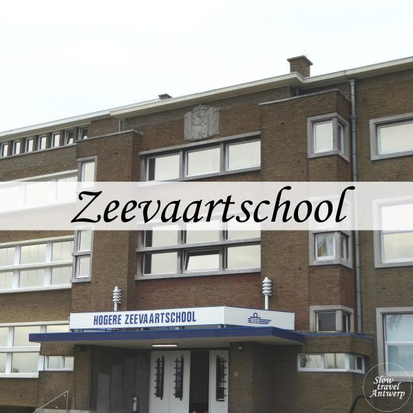 Zeevaartschool Antwerpen - titel