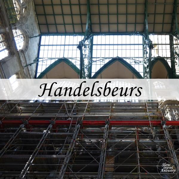 Handelsbeurs Antwerpen - titel