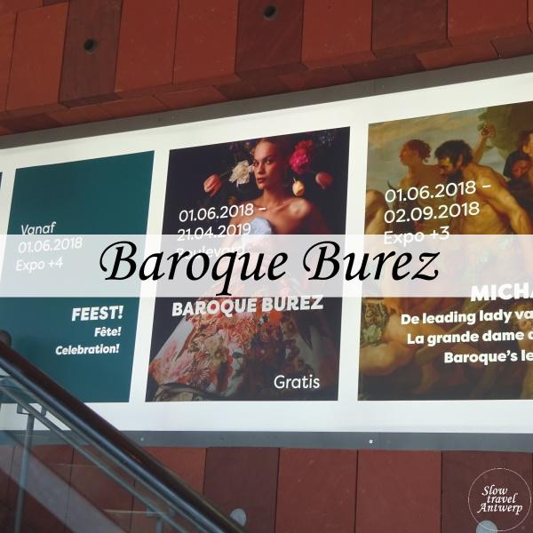 Baroque Burez in het MAS - titel