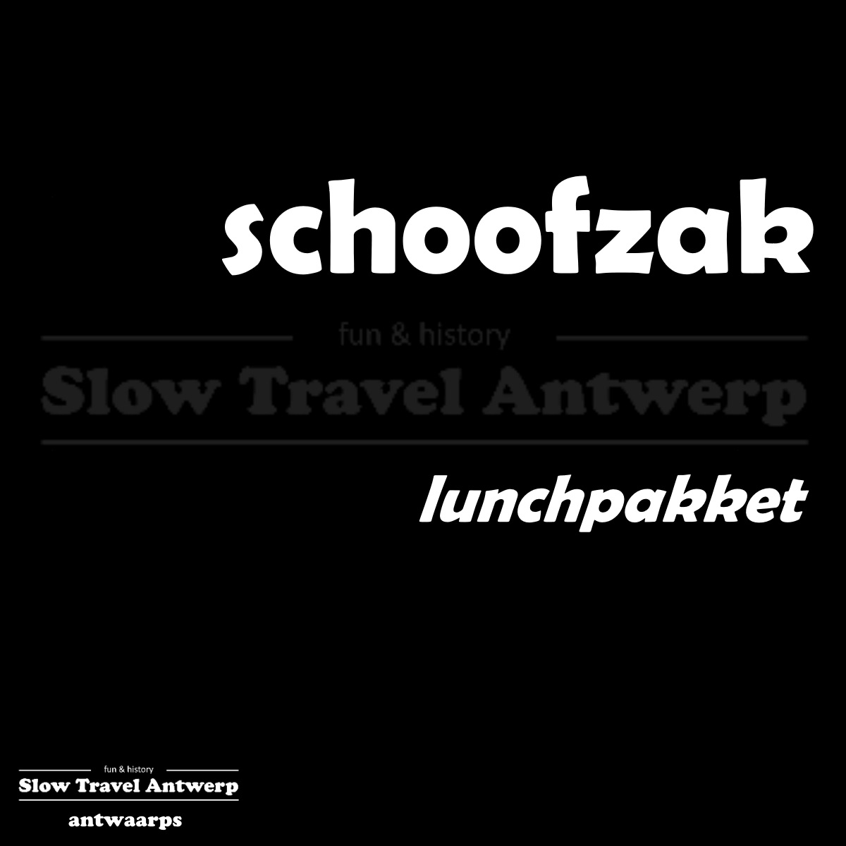 schoofzak – lunchpakket – packed lunch