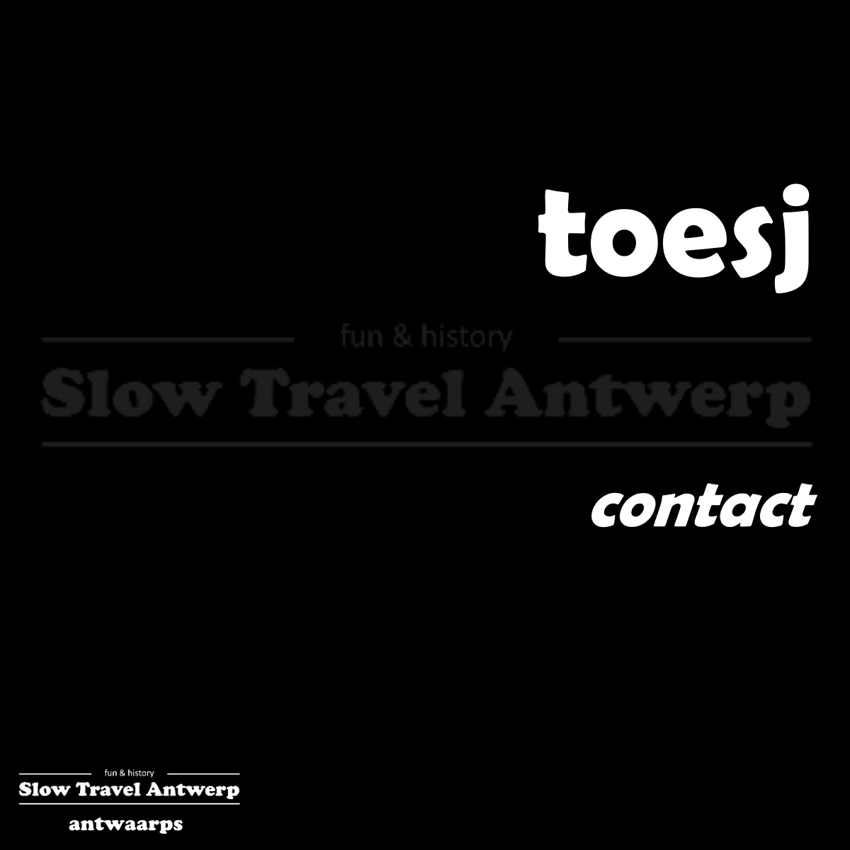 toesj – contact – make contact
