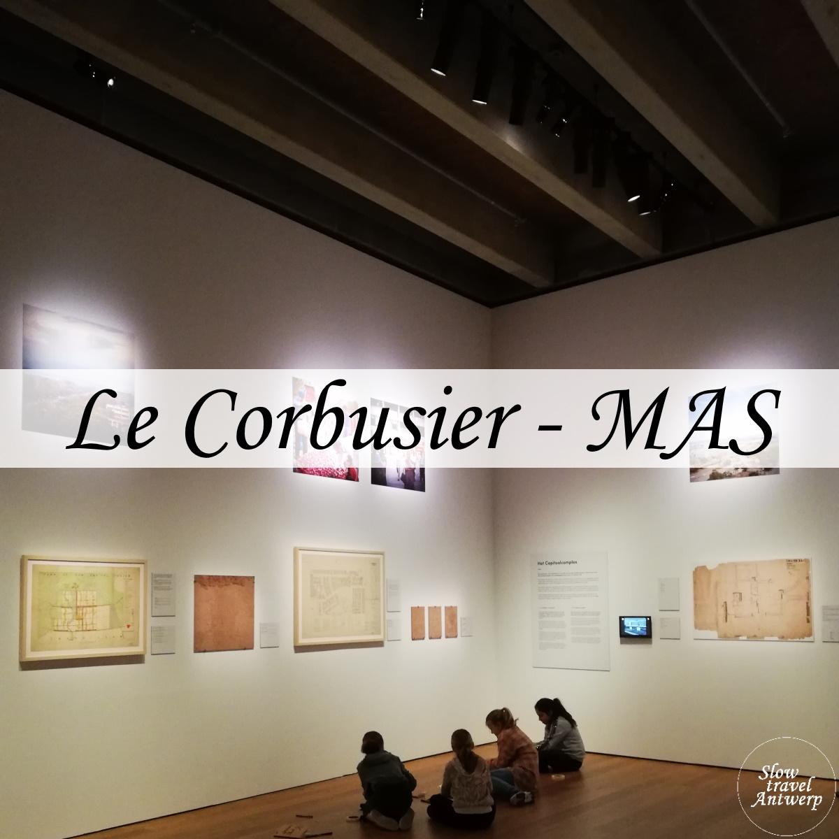 Le Corbusier in MAS - titel
