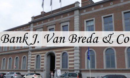 Bank J. Van Breda – van oud goederenstation tot bank