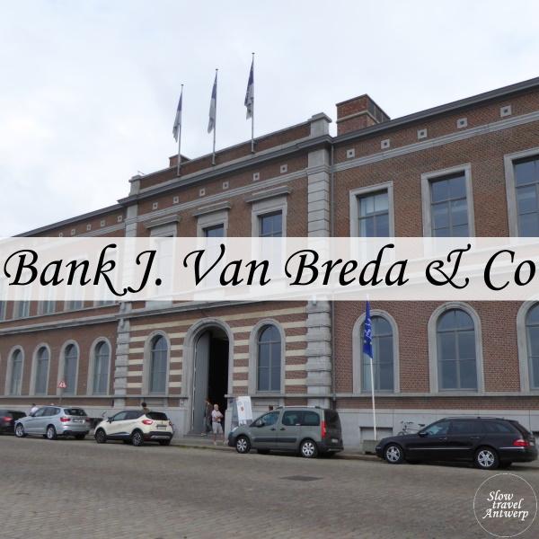 Bank Van Breda - Antwerpen Zuid - titel