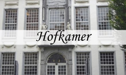 De Hofkamer – pronkhuis in de tuin van Den Wolsack