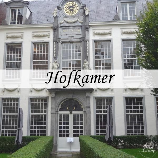 Hofkamer - Den Wolsack Antwerpen - titel