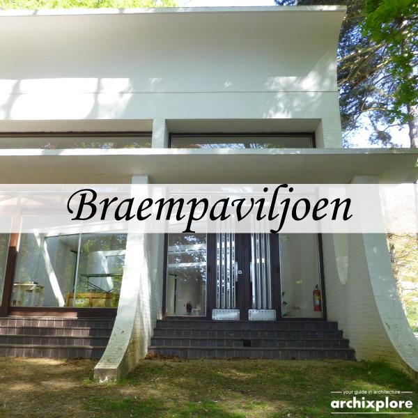 Braempaviljoen Middelheimmuseum Antwerpen - titel