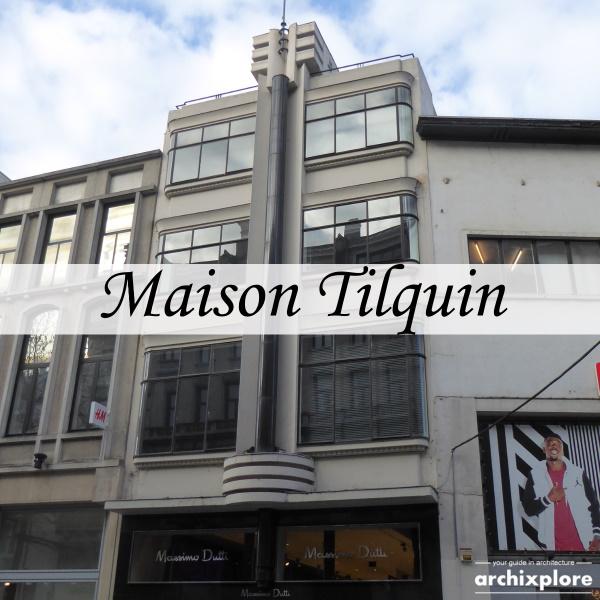 Maison Tilquin - art deco Meir Antwerpen - titel
