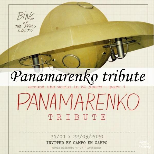 Panamarenko tribute bij Campo&Campo - tentoonstelling in Antwerpen 2020 - titel