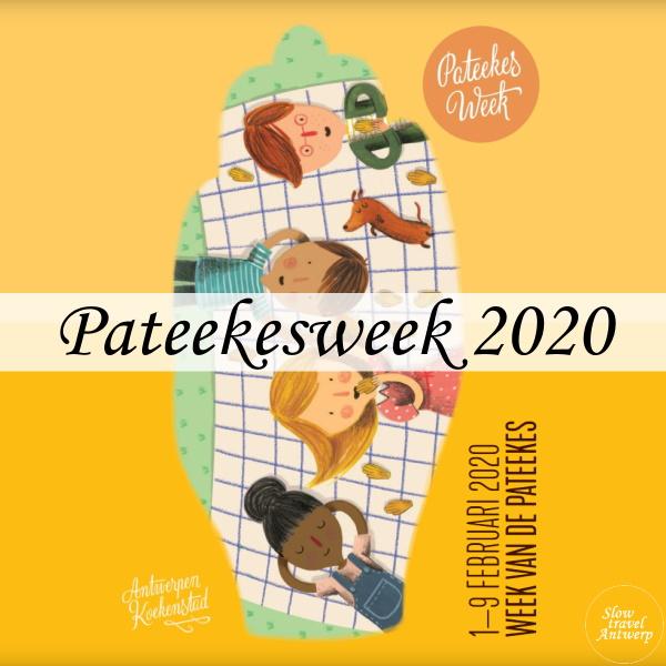 Pateekesweek 2020 Antwerpen - titel