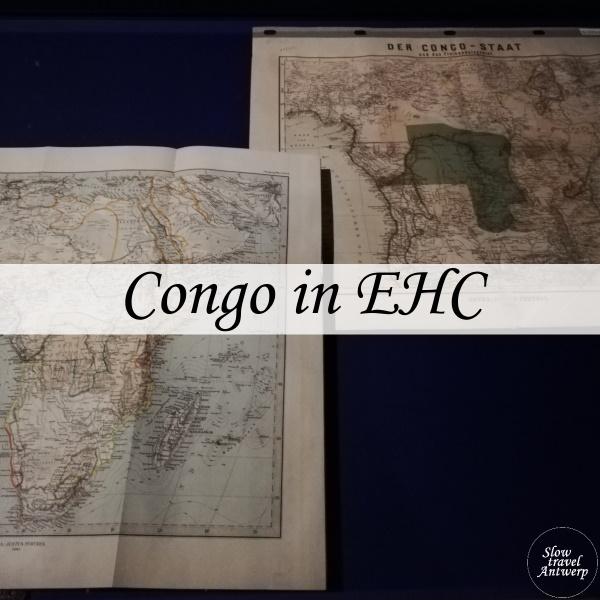 Tentoonstelling over Congo in de Erfgoedbibliotheek Hendrik Conscience Antwerpen - titel