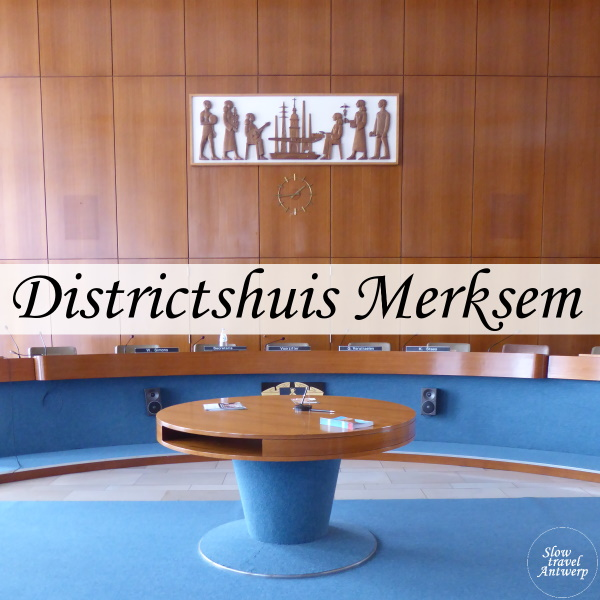 Districtshuis Merksem - titel
