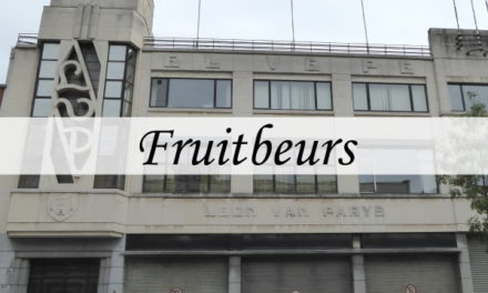 Belgian Fruit Fair – art deco on the Eilandje