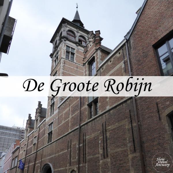 Groote Robijn en Van Straelentoren Antwerpen - titel