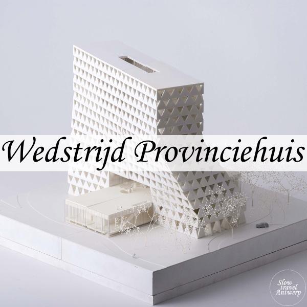 Wedstrijd Provinciehuis Antwerpen - Xaveer de Geyter - titel