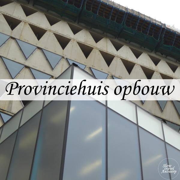 Provinciehuis in opbouw - titel
