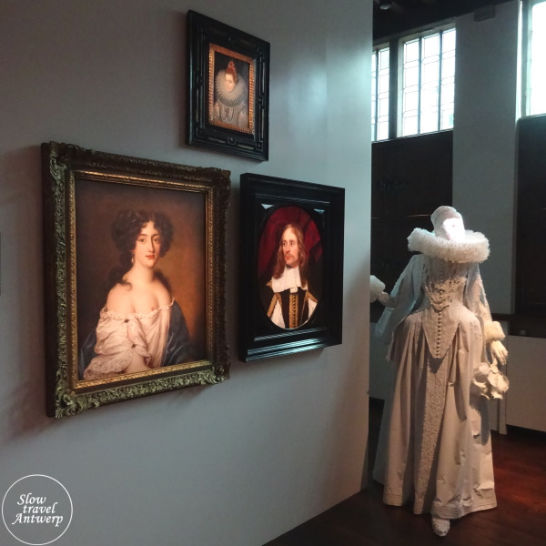 Blind Date - tentoonstelling Snijders & Rockoxhuis - detail portretten