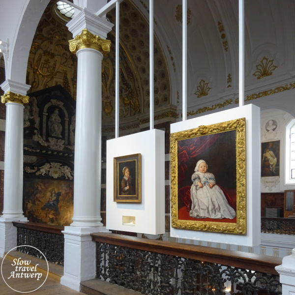 Blind Date - tentoonstelling Snijders & Rockoxhuis - detail in de Sint-Carolus Borromeuskerk