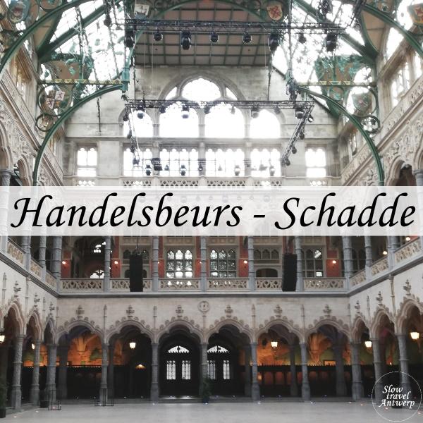 Handelsbeurs Antwerpen door architect Schadde - titel