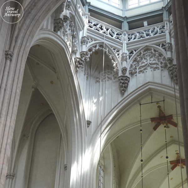 Onze-Lieve-Vrouw Kathedraal Antwerpen - detail opbouw Vieringtoren