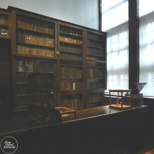 Museum Plantin-Moretus Antwerpen - de vroegere winkel van de drukkerij