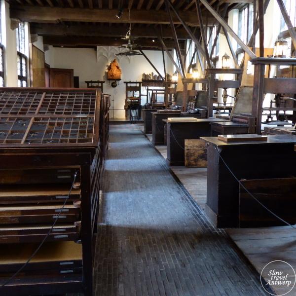 Museum Plantin-Moretus Antwerpen - de vroegere drukkerij