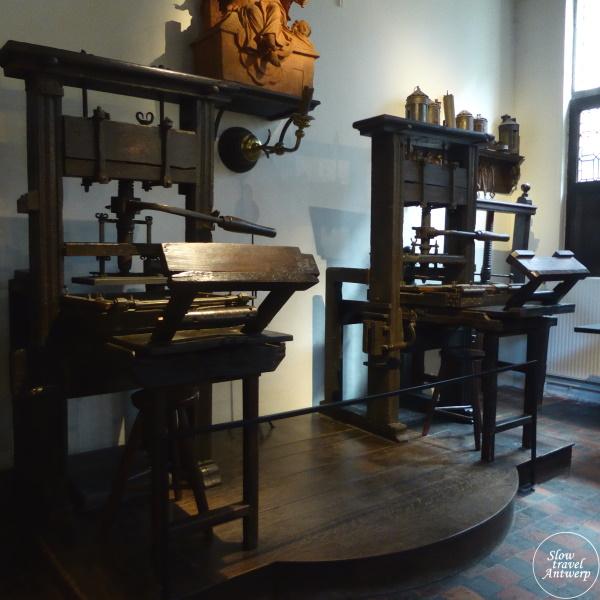 Museum Plantin-Moretus Antwerpen - de oudste drukpersen ter wereld