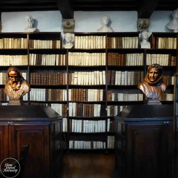Museum Plantin-Moretus Antwerpen - oude bibliotheek