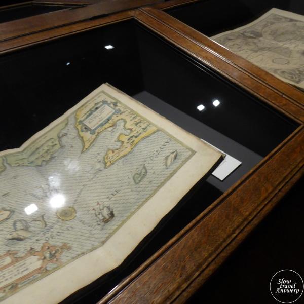 Museum Plantin-Moretus Antwerpen - kaarten en atlassen in vaste tentoonstelling