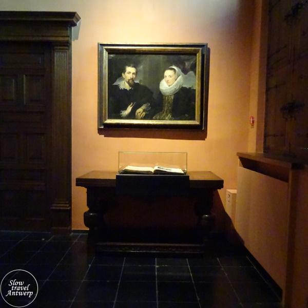 Museum Snijders & Rockoxhuis Antwerpen - portret Frans Snijders en zijn vrouw