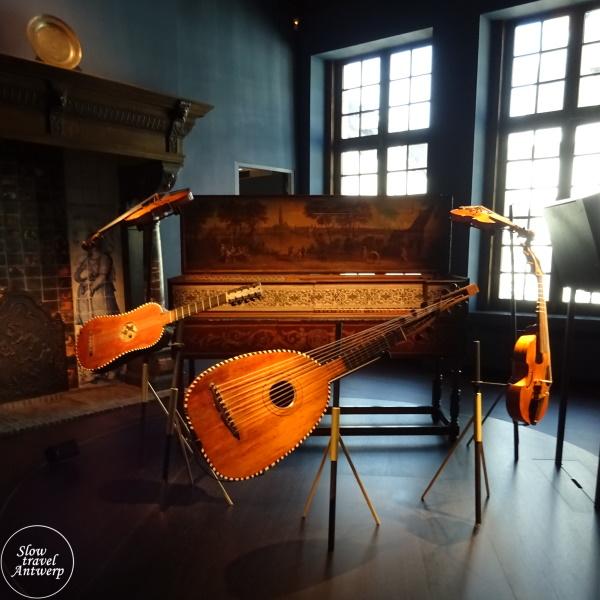 Museum Snijders & Rockoxhuis Antwerpen - muziekkamer familie Duarte