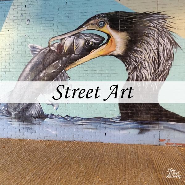 Street Art in Antwerpen - mijn favorieten - titel