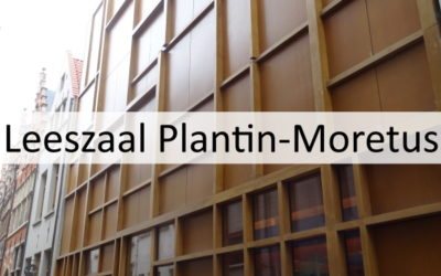 Leeszaal en depot van Museum Plantin-Moretus