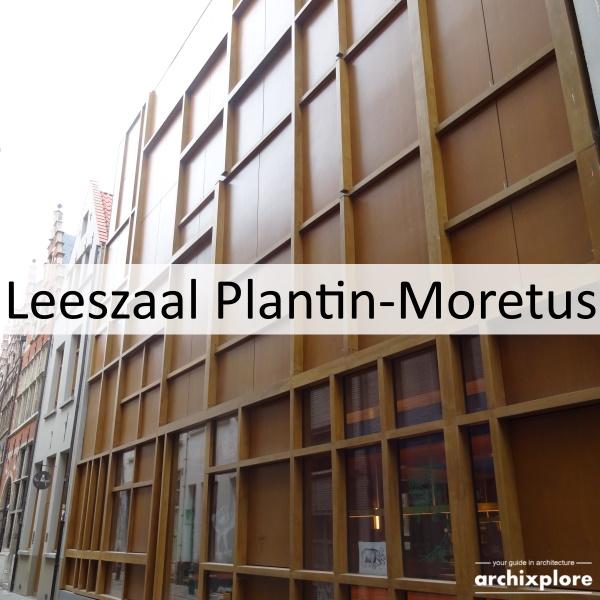 Leeszaal en depot Museum Plantin-Moretus Antwerpen - titel