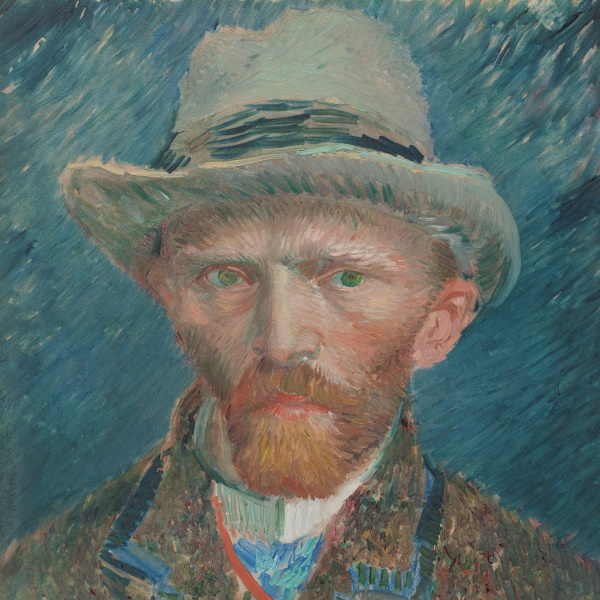 Vincent Van Gogh in Antwerpen - Slow Travel Antwerp - zelfportret