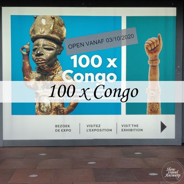 expo 100 x Congo in MAS Antwerpen - titel
