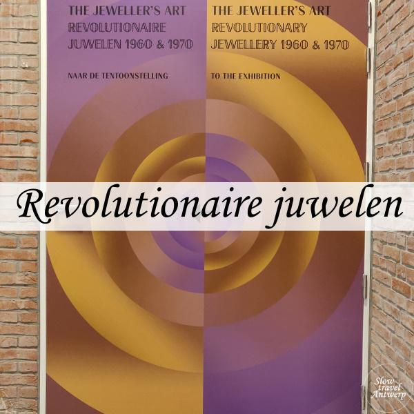 The Jeweller's Art. Revolutionaire juwelen uit de jaren 1960 & 1970 - DIVA Antwerpen - titel