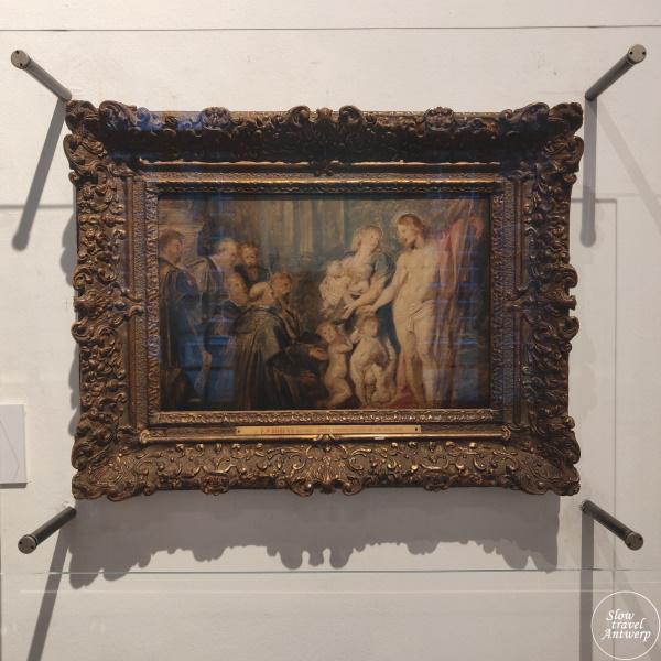 Maagdenhuis museum Antwerpen - schets Rubens
