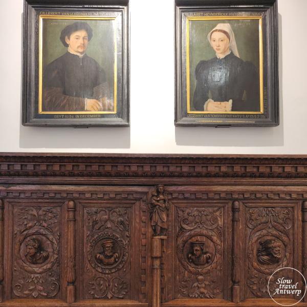 Maagdenhuis museum Antwerpen - Van Schoonbeke portretten