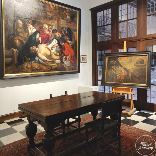 Maagdenhuis museum Antwerpen - Nood Gods Jordaens