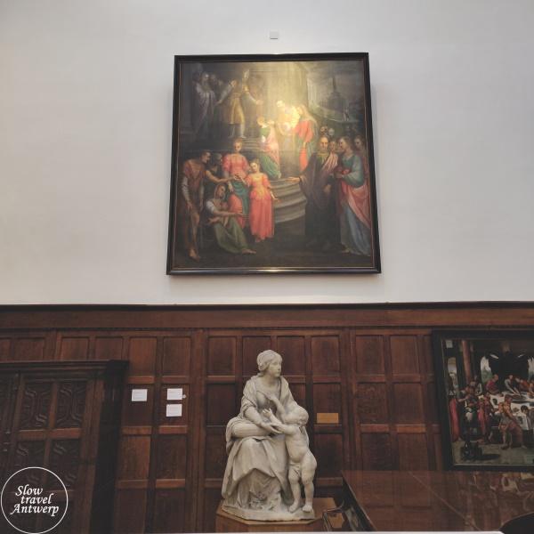 Maagdenhuis museum Antwerpen - kapel