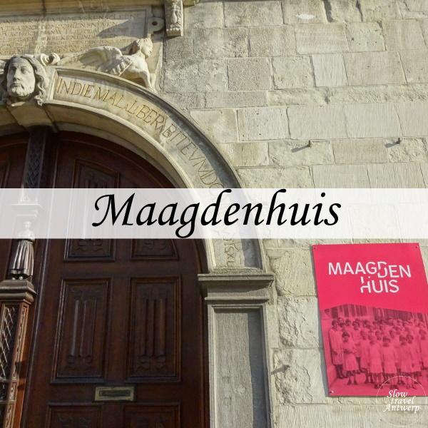 Maagdenhuis museum Antwerpen - titel