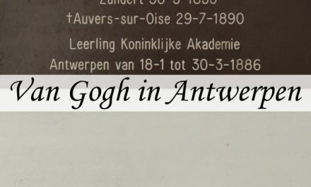 Vincent Van Gogh's stay in Antwerp