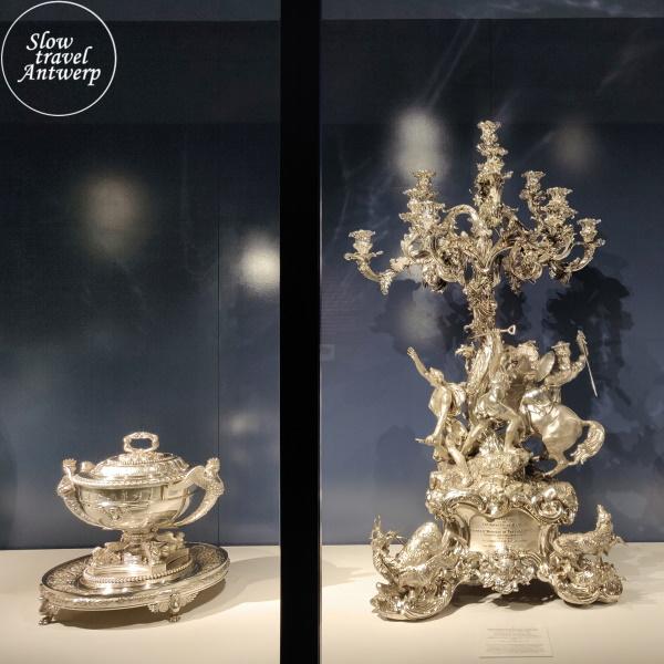 Masterpieces in Miniature - DIVA Antwerpen - feestelijk zilver