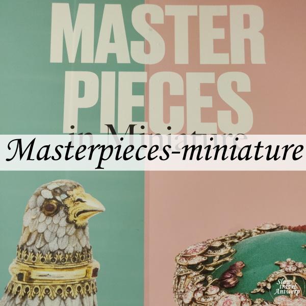 Masterpieces in Miniature - DIVA Antwerpen - titel