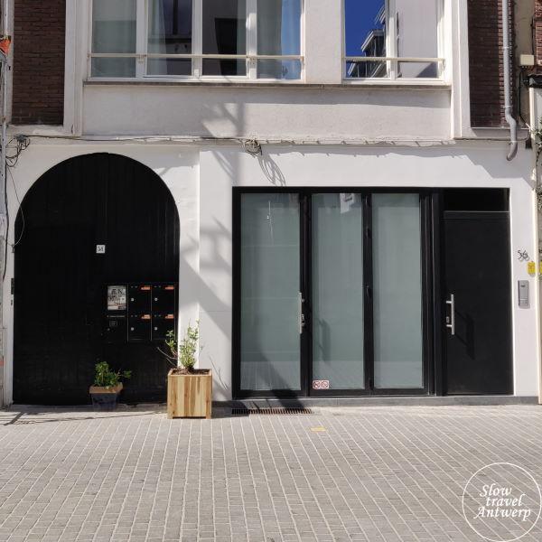Zilversmidspand en Zilversmidgang Antwerpen - poort aan de Lange Koepoortstraat